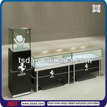 TSD-W219 retail fashion glass jewelry display cabinet/ jewelry shop display/ jewelry display case