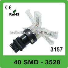 40 pcs 3528 SMD 3157 base DC12V led light for car