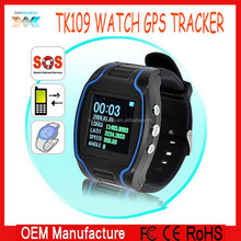 Personal wrist Watch GPS tracker with SOS and internal momery, GPS tracker watch TK109 tk209