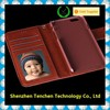 Hot Selling PU Leather Wallet Folio cover for iPhone 6 plus