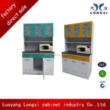 Flat pack ckd structure modern modular kitchen cabinet