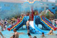 octopus slide inflatable kides amusement park