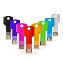 Metal usb key flash drive 1gb/2gb/4gb/8gb usb stick