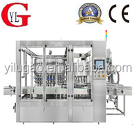 Auto olive oil filling capping labeling line