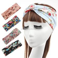 Headbands for Women New Printed Cotton Head wrap Turban Headband