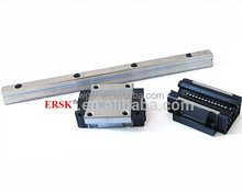 Dual shaft rail linear guide rail