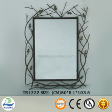 Ivy Style Metal Wall Framed Mirror