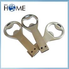 Best Promotion Metal USB Flash Drive Bottle Opener with Logo