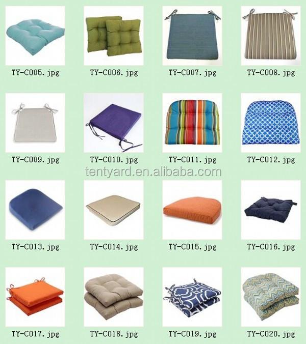 Poliester tejido outdoor cojines para sillas mecedoras - Cojines para mecedoras ...