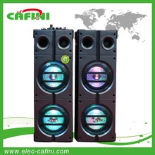 2015 HOT 2.0 8inch Outdoor bass Speaker with SD FMradio USB Bluetooth and lights