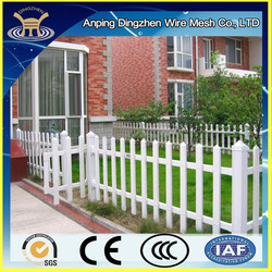 Modern White picket fencing, Vinyl fence panel, decorative vinyl garden fence