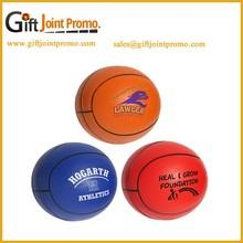 Customized Basketball PU Stress Ball, Anti Stress Ball