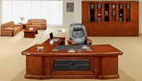 Factory wholesale durable office desk layouts (FOH-K3216)