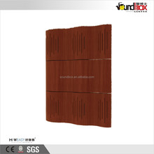 Curve Wooden acoustic sound diffuser absorption wall panel board for HIFI & Home cinema