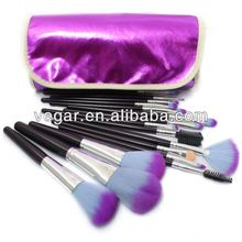 Pro 16pcs Purple color makeup brushes japan cosmetic brushes