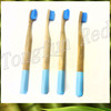 Private label 100% biodegradable wholesale eco-nature bamboo hotel toothbrush kit