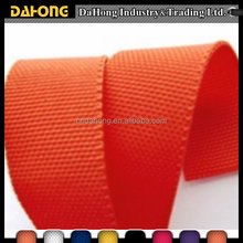 eco-friendly colored woven webbing Band plain PP binding