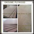 Los mejores comerciales de calidad 1220*2440mm ordinario de madera contrachapada con chapa de la cara