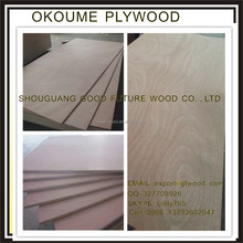 Commercial Best Quality 1220*2440mm Ordinary Plywood with Veneer Face