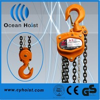 Chain crane trading types of TOYO Chain Pulley Block