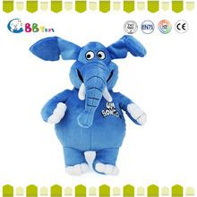 hot new products for 2015 stuffed animal blue stuffed plush elephant toy dolls
