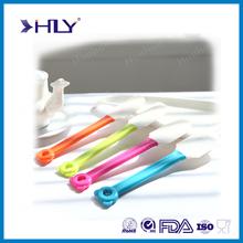 Cute silicon spatula, Eco-friendly BPA free mini silicone spatula set, high quality silicon spatula set