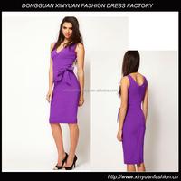 Sexy Sleeveless Smart Elegant Dress For Women