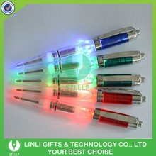 Customized Logo Led Light Pen Promotional Item Gift