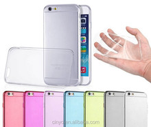 for iphone 6 tpu case, for apple iphone 6 ultra thin transparent clear tpu gel silicone case