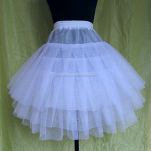 2014 girls underskirt hot sale charm white crinoline gown dress 3 layers tulle petticoats