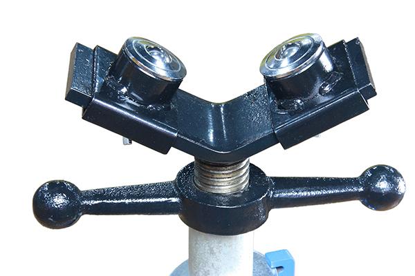 1107A регулируемая мяч головой пов / трубы роликовые стенды
