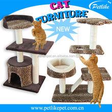2015 China top ten selling toy deluxe cat tree,sisal cat tree,cat tree beige
