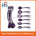 2015 nuevos productos 7- pieza y utensilios de cocina ware& la cabeza de nylon utensilios 6628
