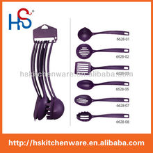 2015new products 7-piece utensils and cook ware&Nylon Head Utensils 6628