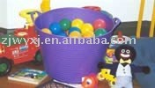 plastic flexible bucket,PE storage bucket,small PE tubtrug,REACH