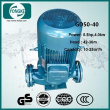GD easy installation 18m3/h 40m head 4kw jockey pump