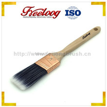 Synthetic Fiber,long wooden handle with nature color ,US paint brush