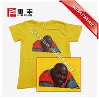 cheap custom silk screen printing 100% cotton T-shirt