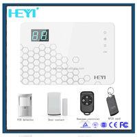 11 zone types factory price auto dial alarm system with alarm clock