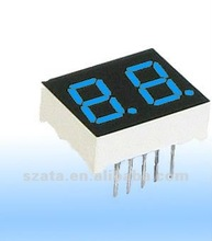electronic 1 inch led 7 segment display 2 digit with full color