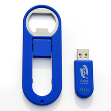 360 degree rotation special flash drives, usb key, openner usb memory stick
