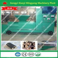 Best choice square shape 15kw wood waste briquette making machine with long use life for bbq