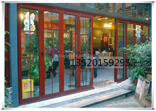 2015 Free Customize Ce Approved New Cheap Price Hot Selling side sliding folding garage doors