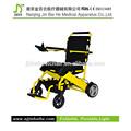 Plegable de la batería operado silla de ruedas eléctrica para personas con discapacidad