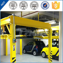 pjs four post two layer two cars parking smart car parking lift/parking system