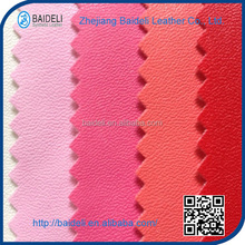 China new fashion pvc leather with lamb grain