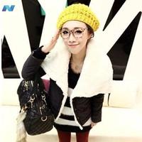 Womens Winter Warm Lapel Coat Jacket 3 Colors