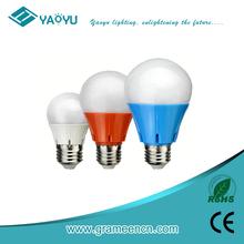 yaoyu 2015 best selling led plastic bulb,hot sale led bulb 8w,led bulb light