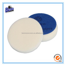 blue polishing pads for VW car