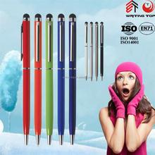 wholesale aluminum slim touch pen
